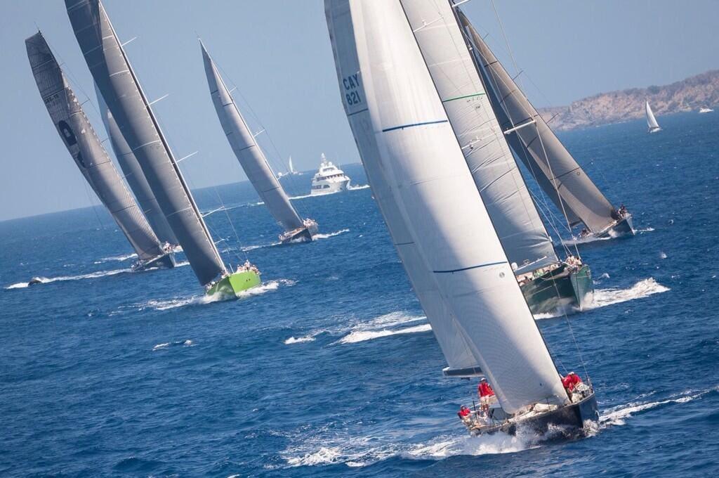 Super Yachts Bucket Regatta photo by Exclusive Yachts LLC
