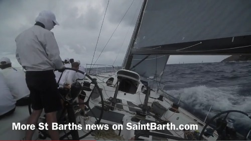 Les Voiles de St Barth 2015 - Day 4 Lucky and Bella Mente