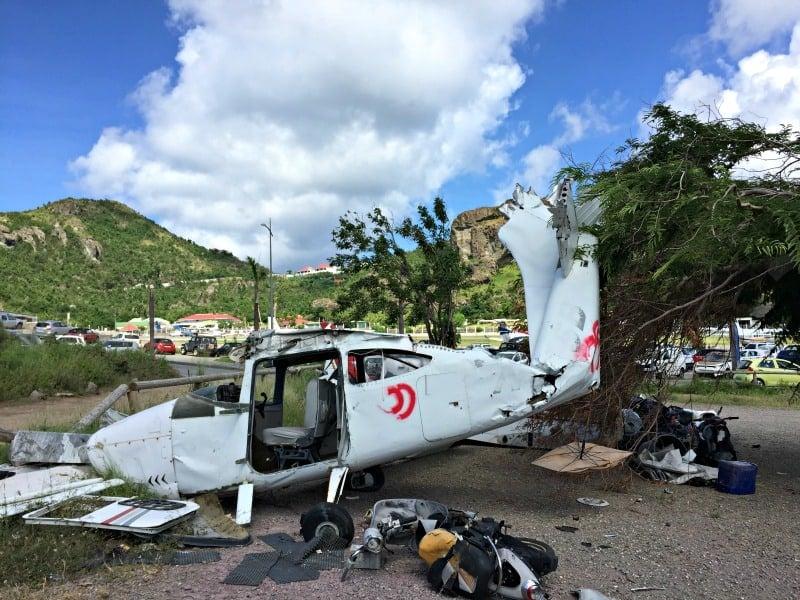 st barths hurricane damage photos