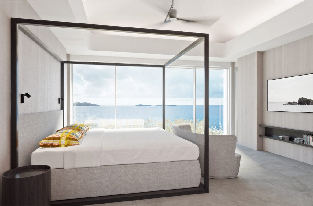 villa domingue bedroom 1 st barths