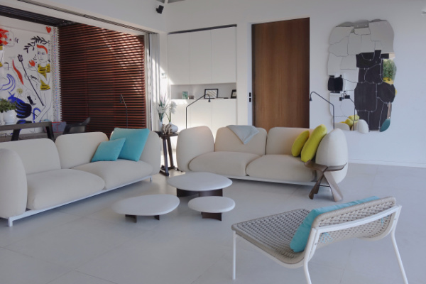 belamour st barths living room view villa 22