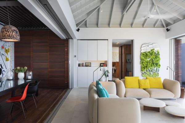 designer one bedroom villa in saint barthelemy