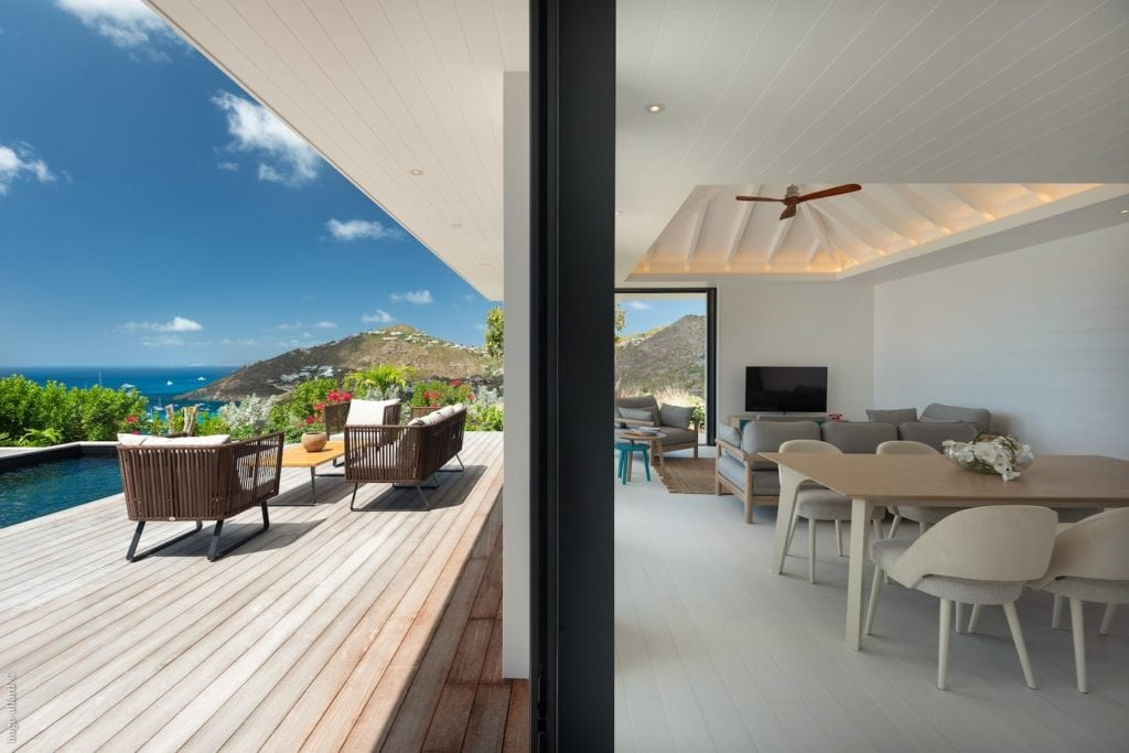best airbnbs in st barths - villa king gustaf