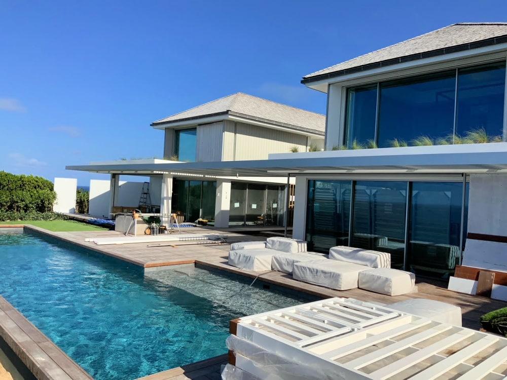 villa domingue st barths master bedroom pointe milou facade 1