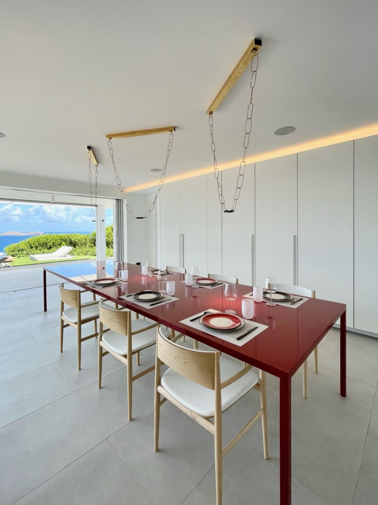 3-bedroom villa in St Barths with cooking essentials