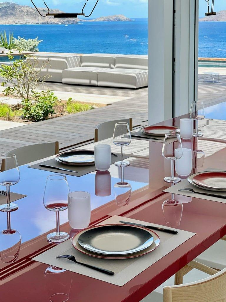 pointe milou luxury villa for 6 in St Barths