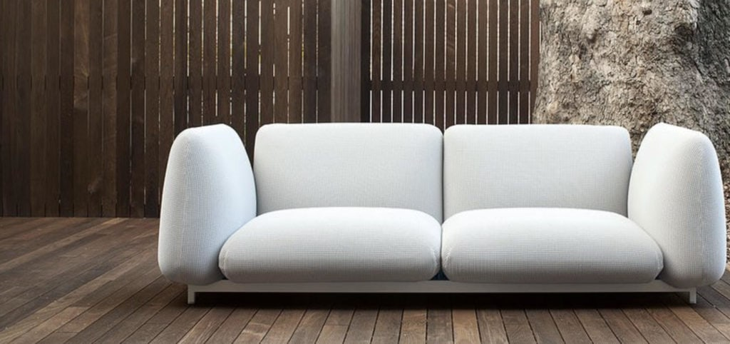 villa belamour st barths Francesco Rota for Paola Lenti sofas
