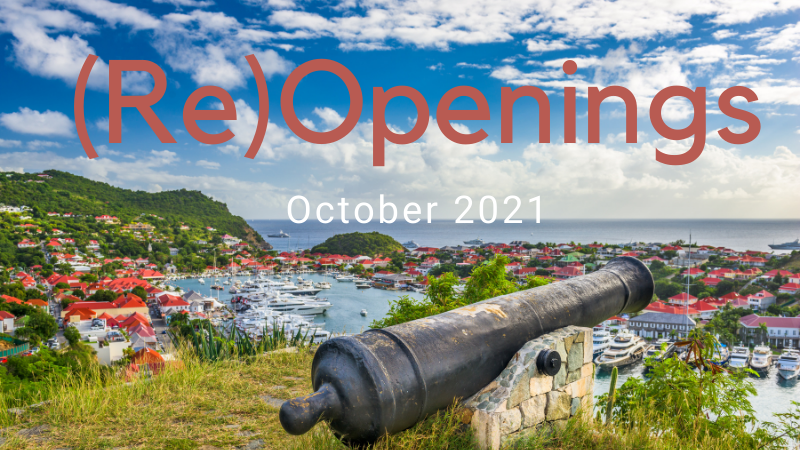 st barths opening october 2021